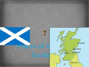 Places of interest . Scotland 
