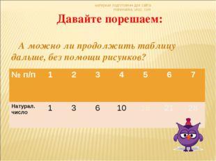 материал подготовлен для сайта matematika. ukoz. com Давайте порешаем: А можн