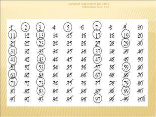 материал подготовлен для сайта matematika. ukoz. com материал подготовлен для