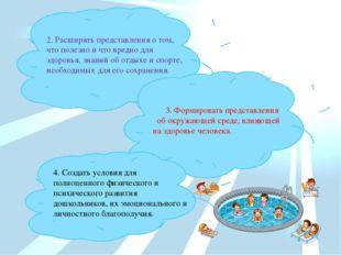 2. Расширять представления о том, что полезно и что вредно для здоровья, знан