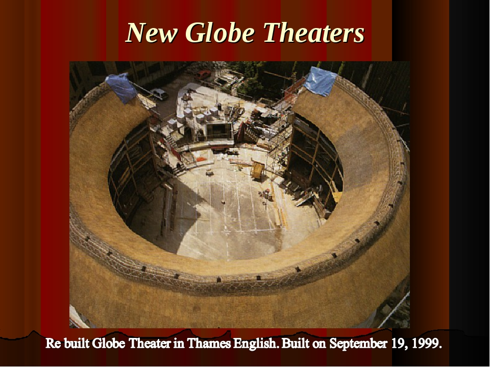 New Globe Theaters