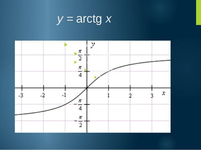 Формулы, связывающие обратные тригонометрические функции