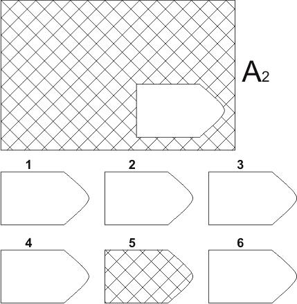прогрессивные матрицы Равена, серия А, карточка 2