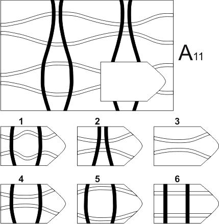 прогрессивные матрицы Равена, серия А, карточка 11