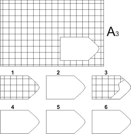 прогрессивные матрицы Равена, серия А, карточка 3