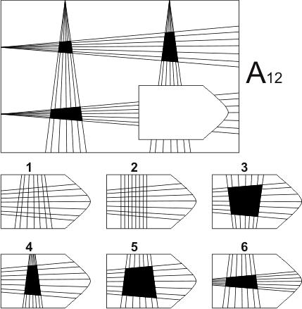 прогрессивные матрицы Равена, серия А, карточка 12