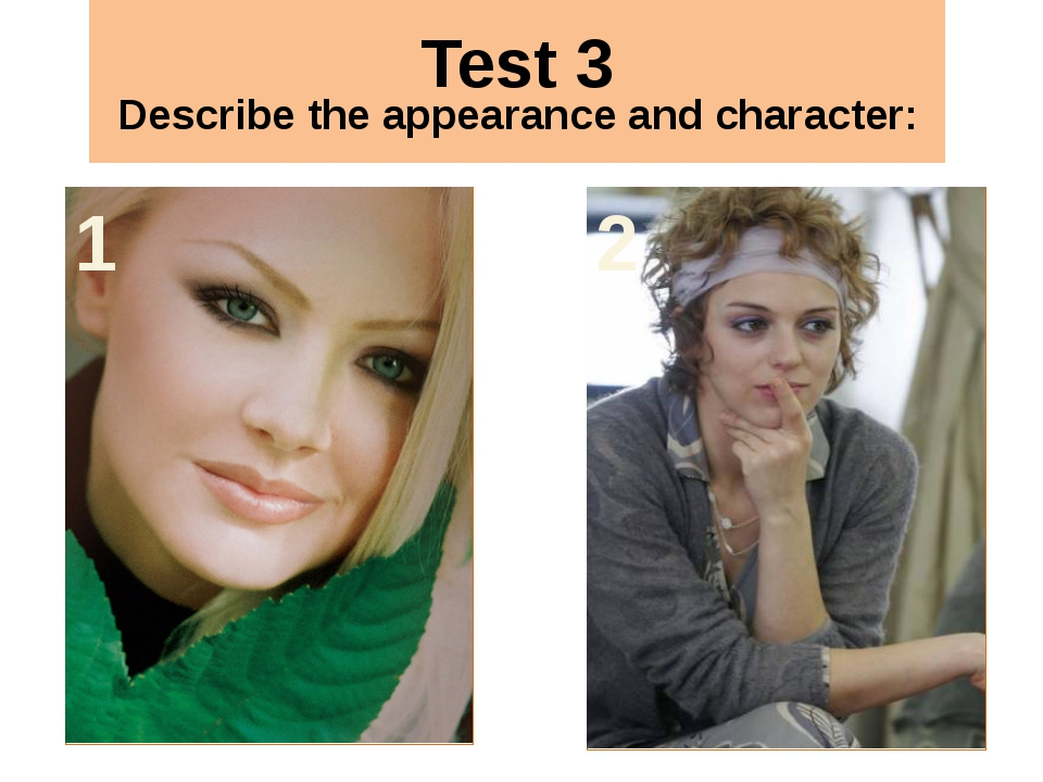 Test 3 3 4 5 6 Appearance