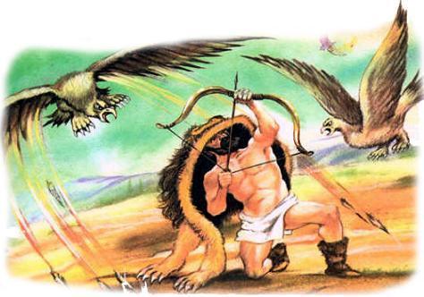 Стимфалиды.Мифы Древней Греции.