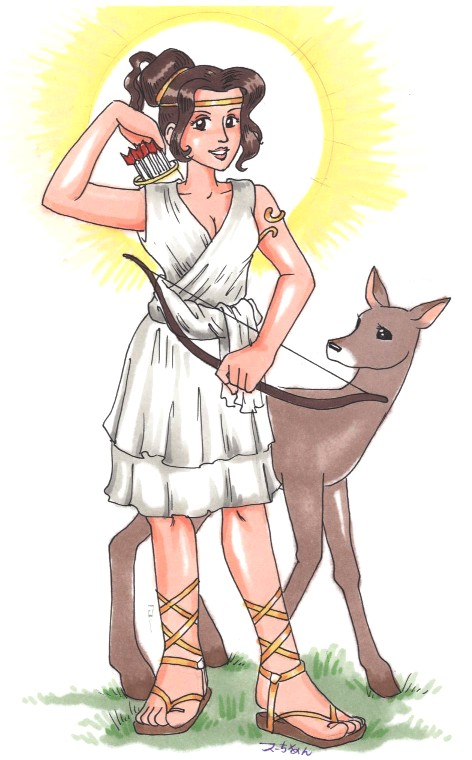 Artemis The Greek Goddess Pictures