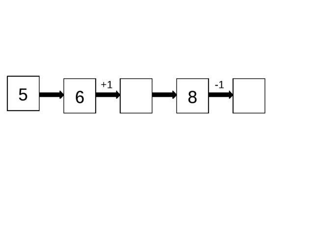5 8 6 +1 -1