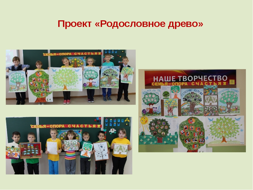 Проект «Родословное древо»