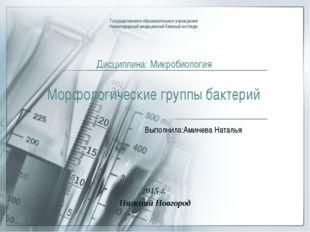 Государственное образовательное учреждение Нижегородский медицинский базовый