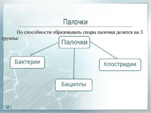 Палочки. Клостридии Клостридии (closter - веретено) – палочки 0,6— 1,2 X 3,