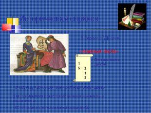 Историческая справка «ломаные числа» В России в VIII веке 15 Прежняя запись д