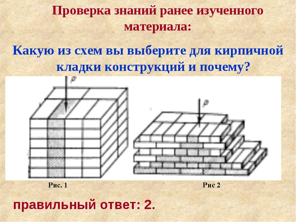 Проверка знаний ранее изученного материала: Какую из схем вы выберите для кир...