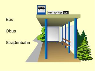 Bus Obus Straβenbahn