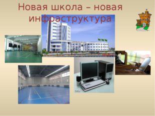 Новая школа – новая инфраструктура