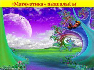 «Математика» патшалығы