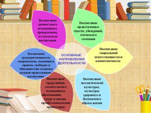 Воспитание трудолюбия, сознательного отношения к образованию, труду и жизни,