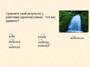вода водичка водопад упаду падать водопад водитель Сравните свой результат с