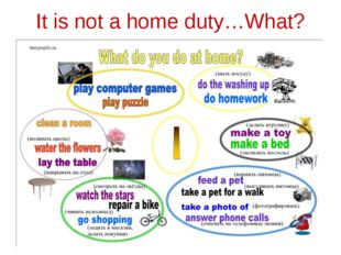 It is not a home duty…What?