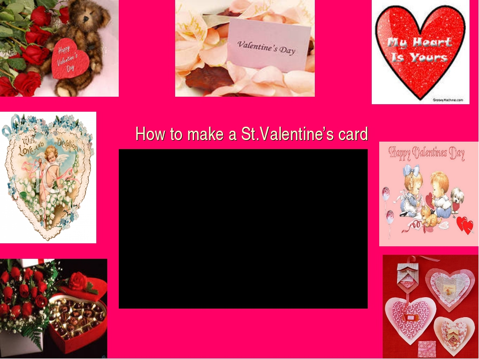 How to make a St.Valentine's card