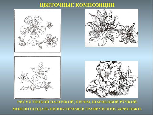 Создание композиции рисунка