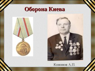 Оборона Киева Кононов А.П.