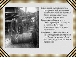 Лимендский судостроительно-судоремонтный завод освоил выпуск кожухов авиацион