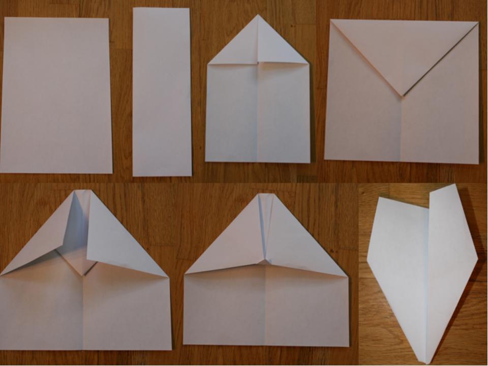 Как сделать из бумаги приборы