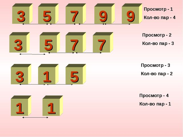 5 3 1 3 9 7 1 5 7 1 9 9 Просмотр - 1 Кол-во пар - 4 3 5 7 1 7 Просмотр - 2 Ко...