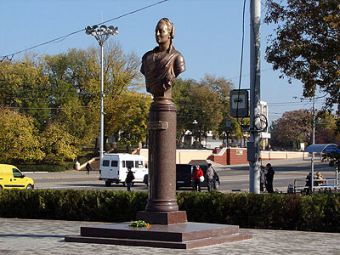 Памятник Екатерине II (Тирасполь в Приднестровье)