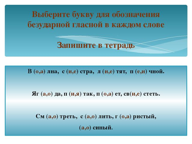 В (о,а) лна, с (и,е) стра, л (и,е) тят, п (е,и) чной. Яг (а,о) да, п (и,я) та...