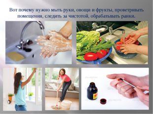 Вот почему нужно мыть руки, овощи и фрукты, проветривать помещения, следить з