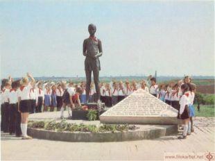 1980 год.Волгоград. Открытие памятника-мемориала «Солдатское поле»