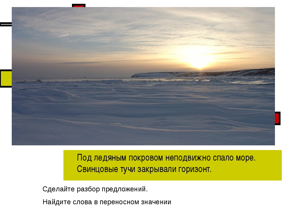 Под ледяным покровом неподвижно спало море. Свинцовые тучи закрывали горизон...
