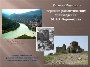 Реки Арагва и Кура. Мцхета. Грузия Монастырь Джарис Сакдари. Монастырь Креста