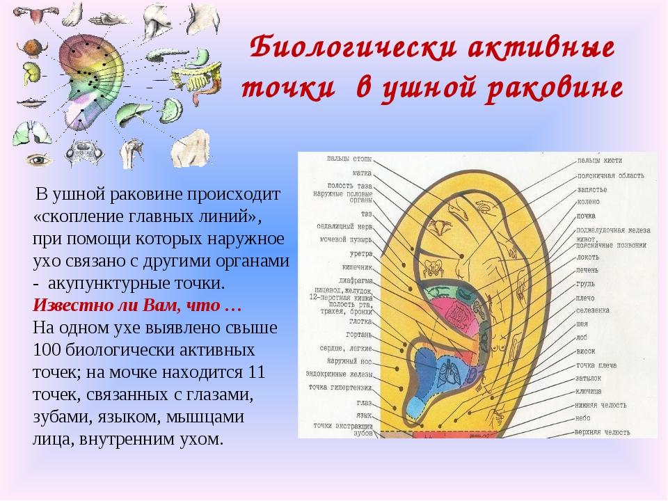 Стимуляцией точек на ушах лечили боль, прокалыванием предотвращали беременность.