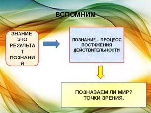 ВСПОМНИМ