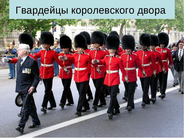Гвардейцы королевского двора