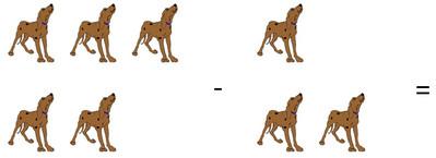 Вычитание собак
