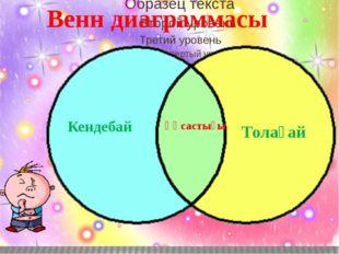 Венн диаграммасы Толағай Ұқсастығы Кендебай