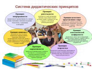 Система дидактических принципов Принцип целостного представления о мире означ