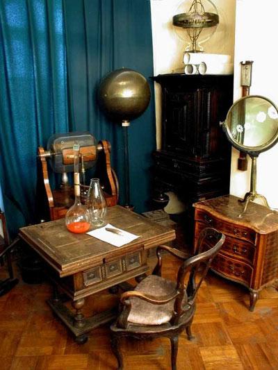 кабинет химика Ломон