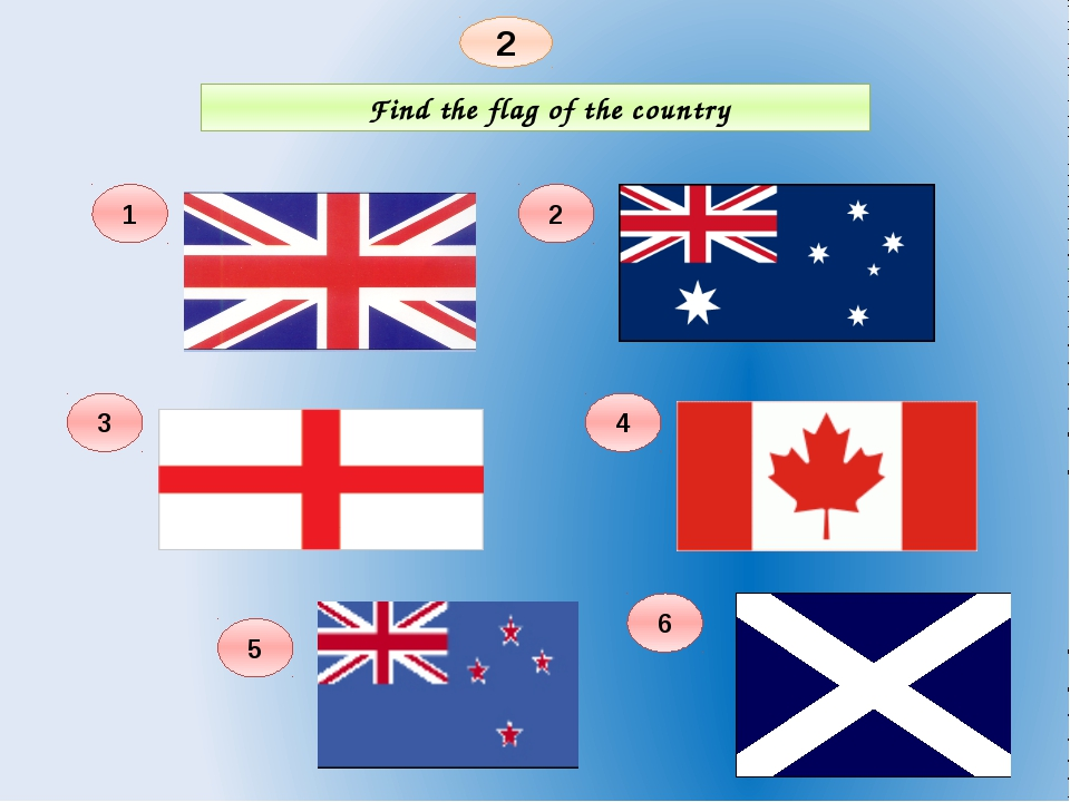 Find the flag of the country 2 1 6 4 2 3 5