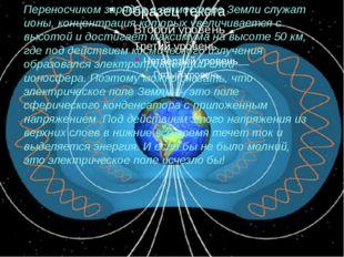 Переносчиком зарядов в атмосфере Земли служат ионы, концентрация которых уве