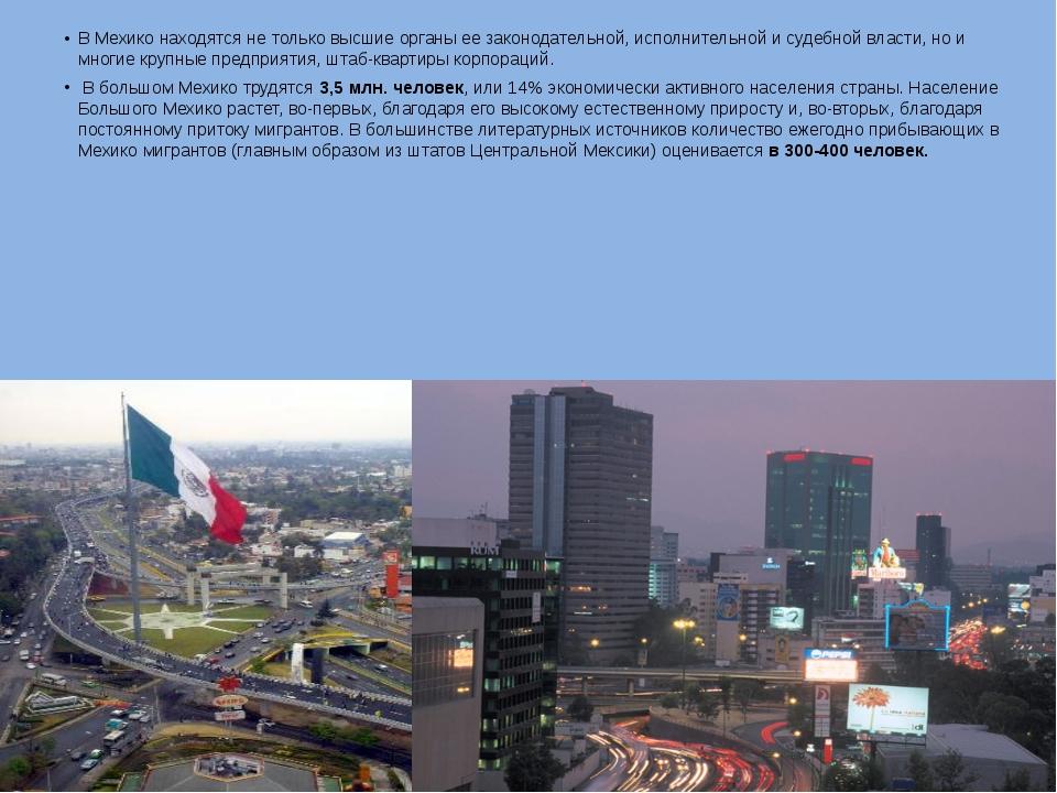 В Мехико находятся не только высшие органы ее законодательной, исполнительной...