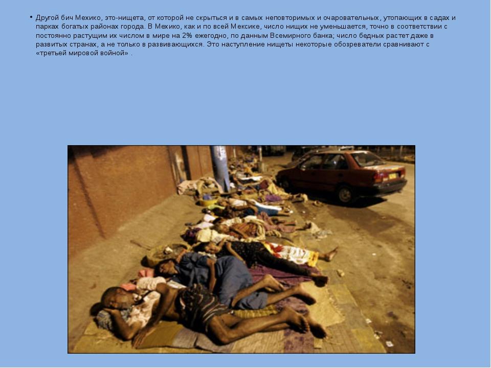 Другой бич Мехико, это-нищета, от которой не скрыться и в самых неповторимых...