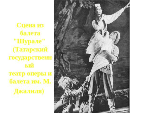 """Сцена из балета """"Шурале"""" (Татарский государственный театр оперы и балета им...."""