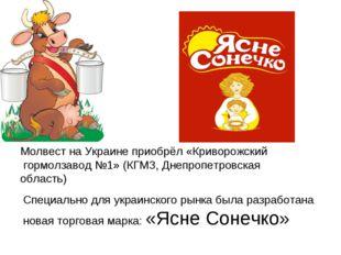 Молвест на Украине приобрёл «Криворожский гормолзавод №1» (КГМЗ, Днепропетров